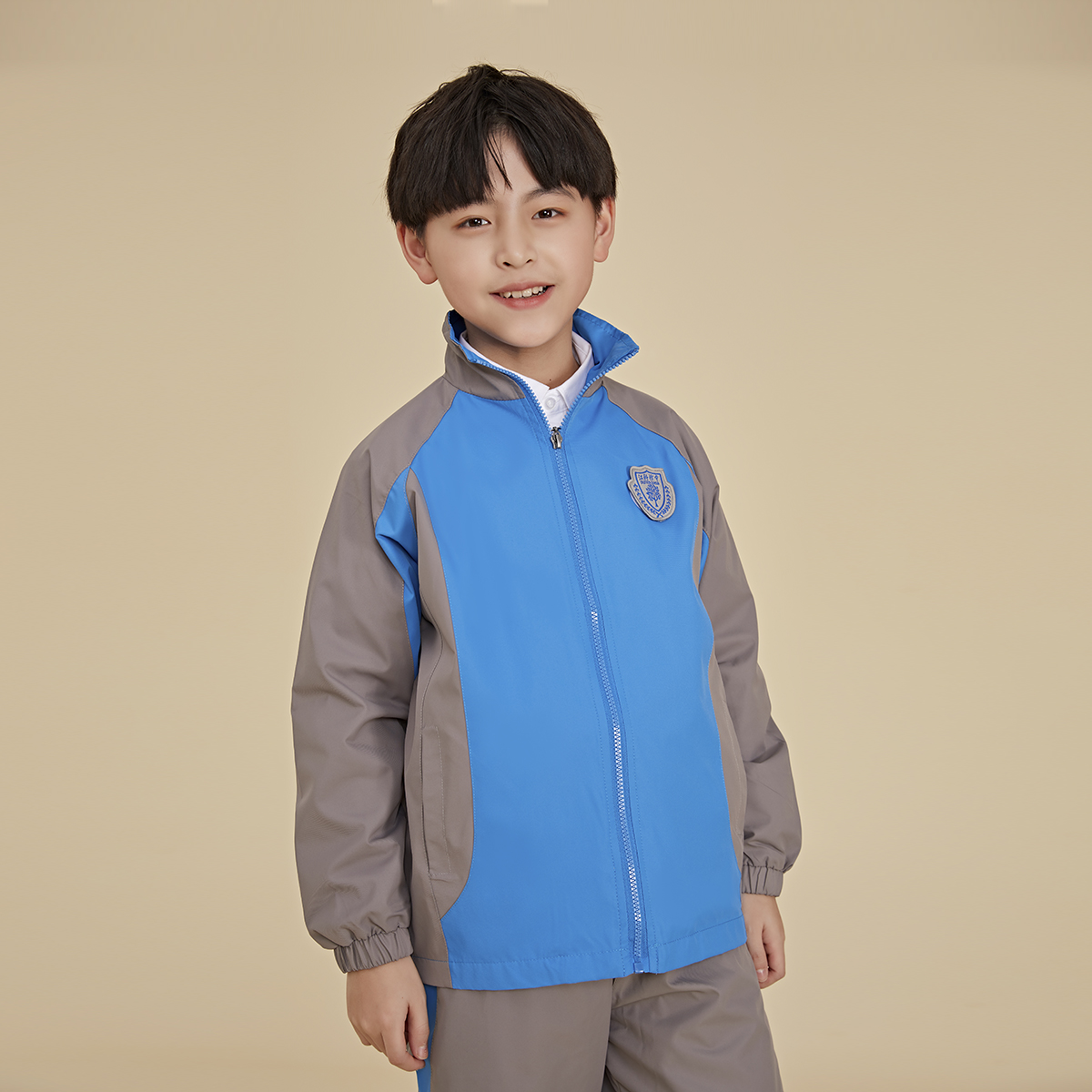 New school designated store golden bird school uniform school uniform set of primary school affiliated to Jiangxi Institute of science and Technology (boys)