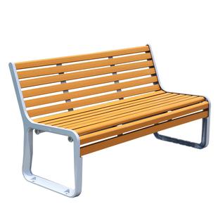 公園椅户外長椅防腐木靠背雙人休息長條椅小區廣場休閒椅景觀坐凳
