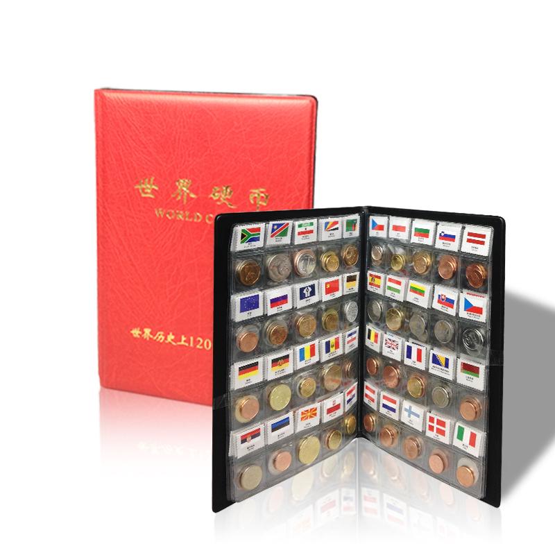 外国钱钱百科全书硬钱大全套礼品册地区个国家120国60世界