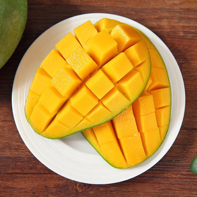【绿皮甜心】越南大青芒8斤装疯抢当季热带新鲜水果