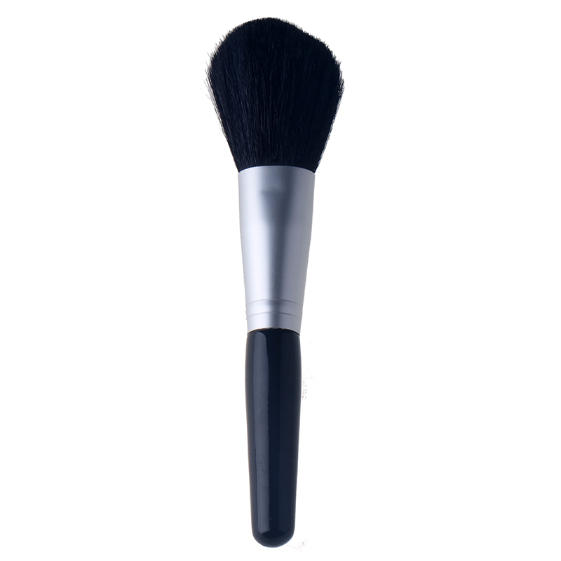 Powder brush, brush, blush brush, multi purpose cosmetic brush, pure wool, wooden handle, fluffy and soft hair.