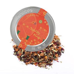 德国花果茶HOKYO盒奇优进口水果茶活力橙子口味三角茶包德国花茶