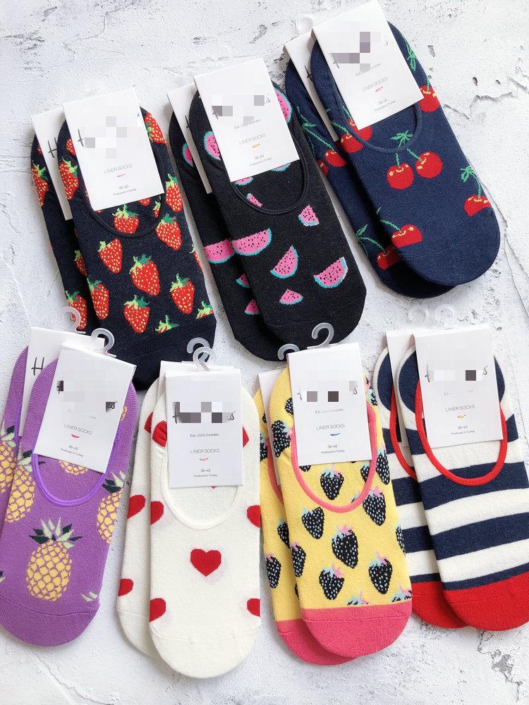 Рев рекомендовал! Очень редко получается супер новая коллекция для влюбленной пары Различные комбинации носков длинный фасон / лодочные носки / невидимые носки