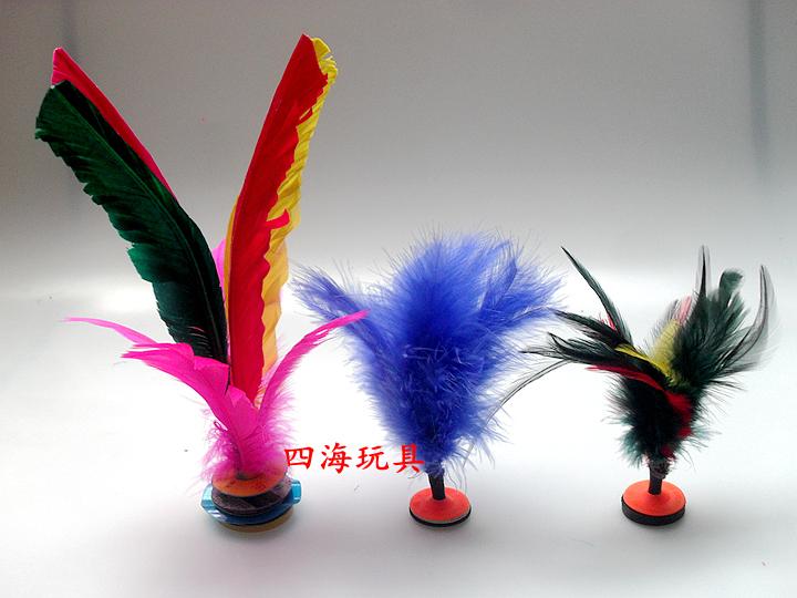 Цвет ворсинка перо волан сын ребенок для взрослых фитнес большой размер гусь цветок волан перо движение фитнес игрушка