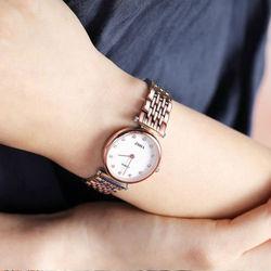 ZHHA致豪正品牌潮流行男女表情侣学生日商务礼物石英手表优雅复古