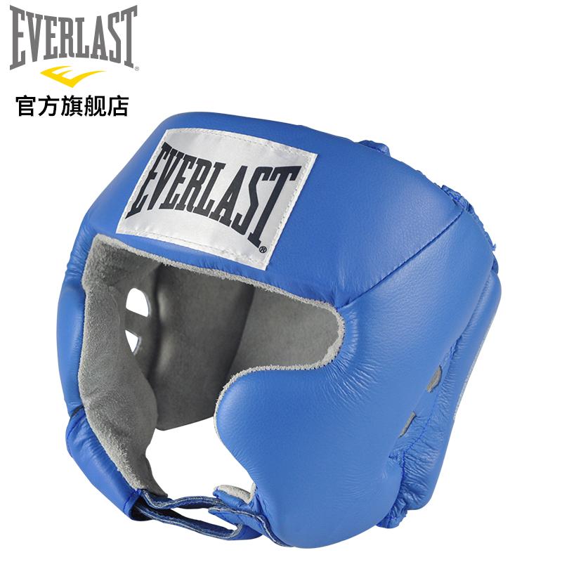 EVERLAST бокс шлем защиты полная защищать для взрослых тхэквондо бесплатно борьба забастовка саньшоу (свободный спарринг) защитное снаряжение обучение оборудование