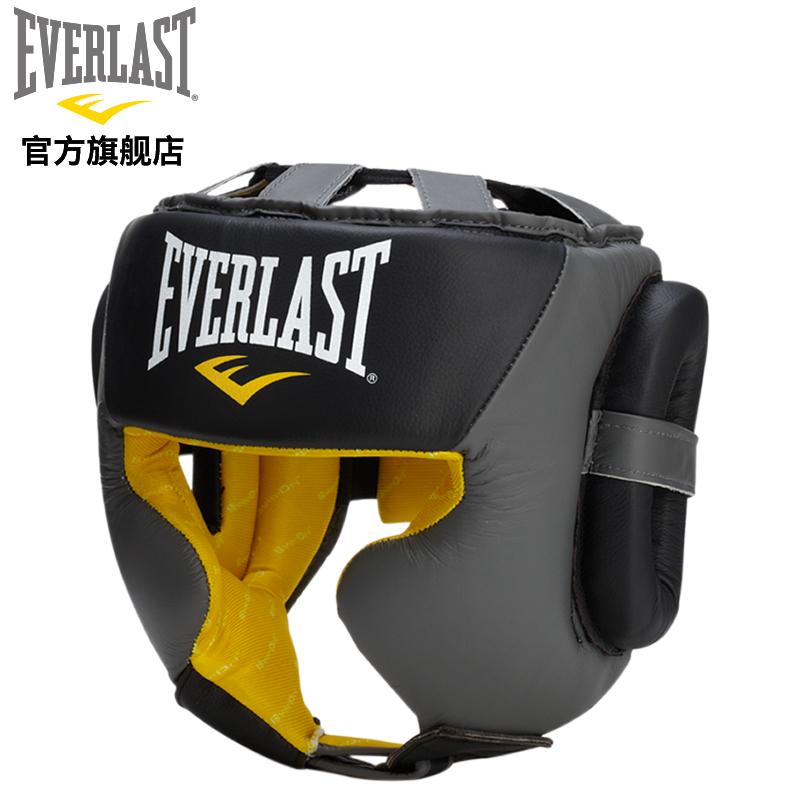EVERLAST бокс шлем защиты полная защищать для взрослых сетка борьба бесплатно борьба забастовка саньшоу (свободный спарринг) защитное снаряжение обучение оборудование