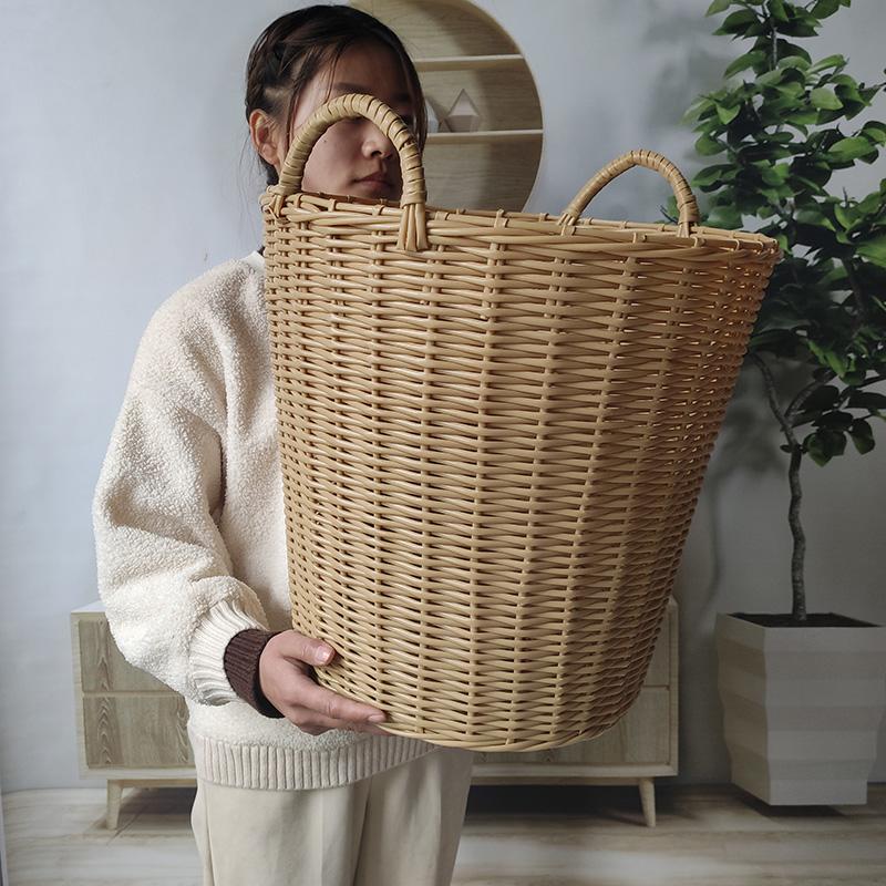 家用脏衣服玩具篓子塑料脏洗衣篮子