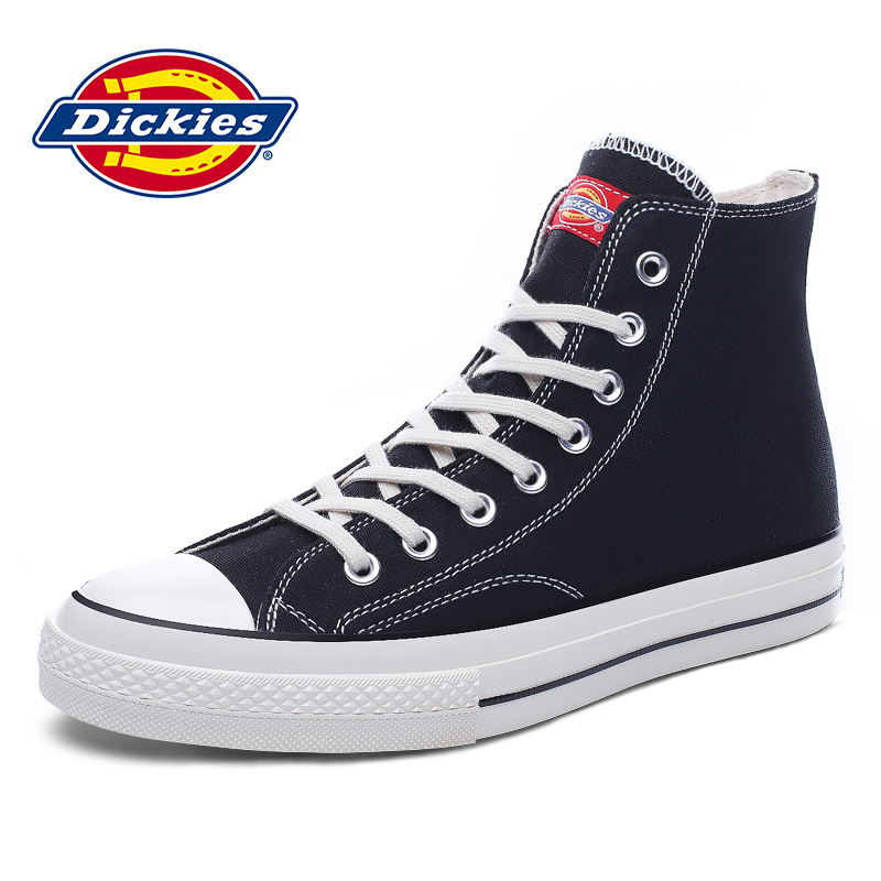 Dickies men's shoes spring and summer 2020 classic trend all in canvas new leisure student high top board shoes