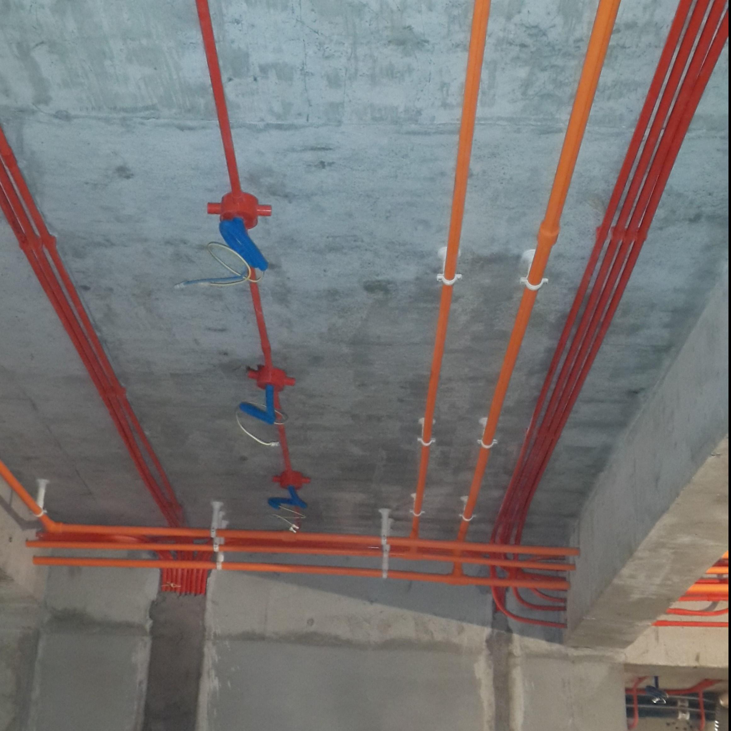 西安咸阳同城专业水电工家装精装修水电改造施工开关插座灯具安装