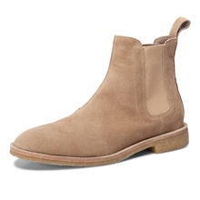 Dreammbox leather with a retro Chelsea boot, Martin boots, men's boots, fashionable English men's boots