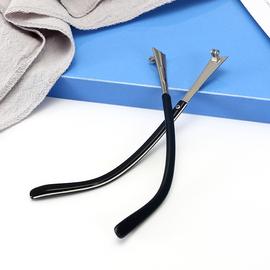 双牙镜腿 太阳脚一对通用框男女多款型号齐全单配眼镜脚眼镜架图片