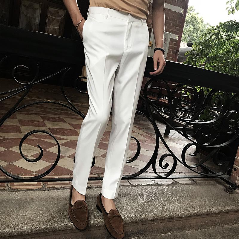 Мужские классические брюки Артикул 570338689257