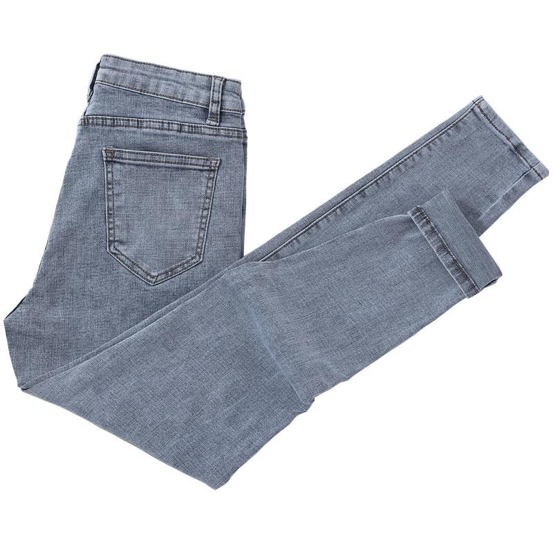 高腰修身显瘦小脚2021新款潮牛仔裤好用吗