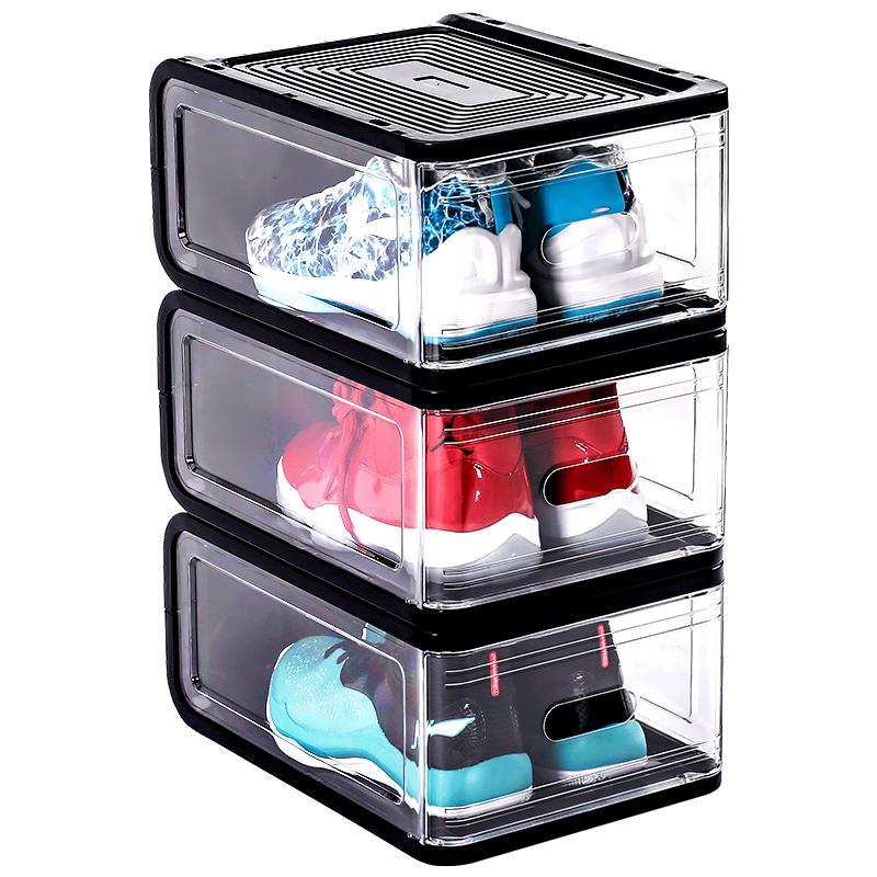 aj球鞋收纳盒神器透明塑料鞋柜怎么样