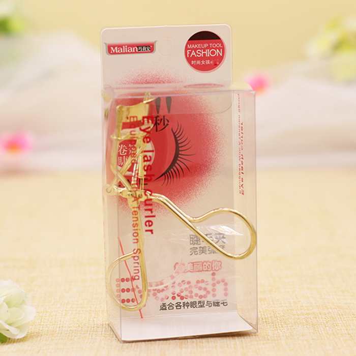 Full package mail wholesale Marion stainless steel wide angle eyelash clip eyelash curler with replacement pad