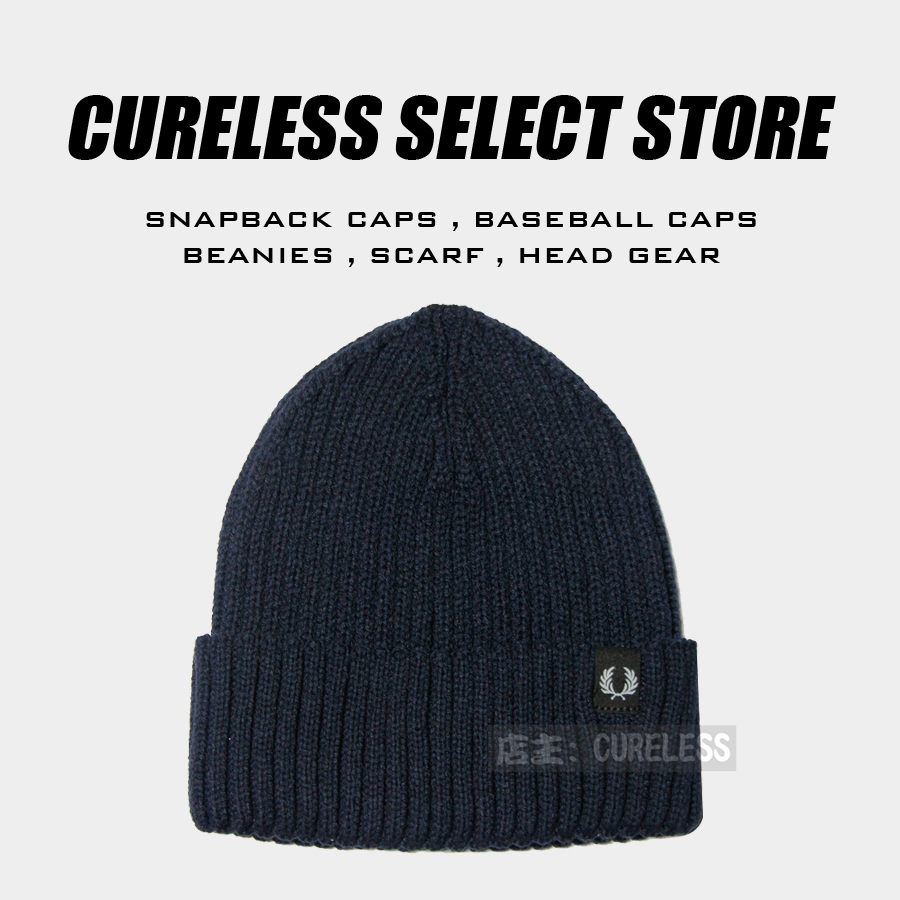 冬季毛线帽英国麦穗月桂潮牌潮帽
