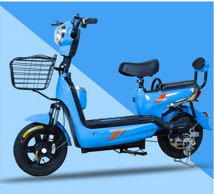 Electric scooter anti-theft seat comfortable and durable small electric bicycle Mini ultra portable pedal
