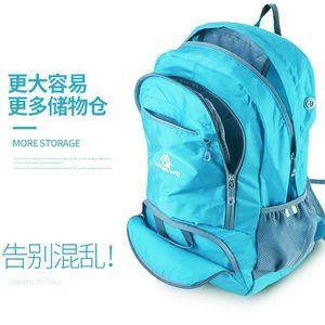 JINSHIWQ皮肤包超轻可折叠旅行包双肩包户外背包登山包轻便携男女