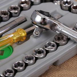 随车大飞8-32mm套装汽保汽修组合汽车维修工具40件套筒扳手组