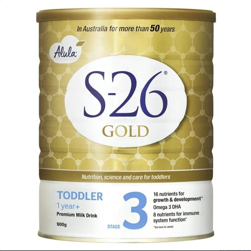 澳洲直邮惠氏Alula白金装s26 婴幼儿牛奶粉1段2段二段3段三段4段