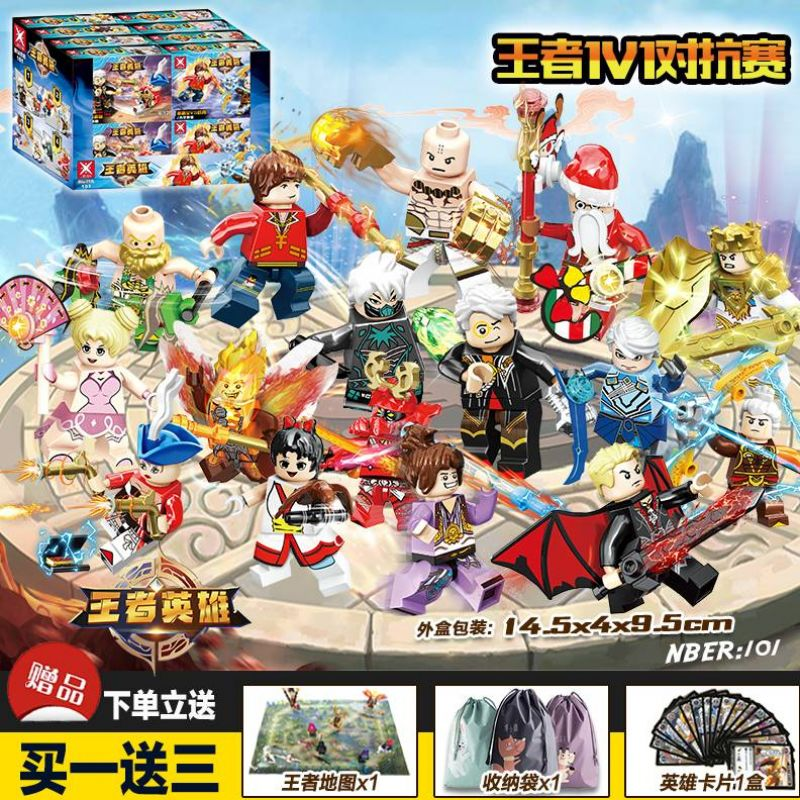 Full set of 61 plastic gift skin model small city new assembly boy hand made hot sell hell