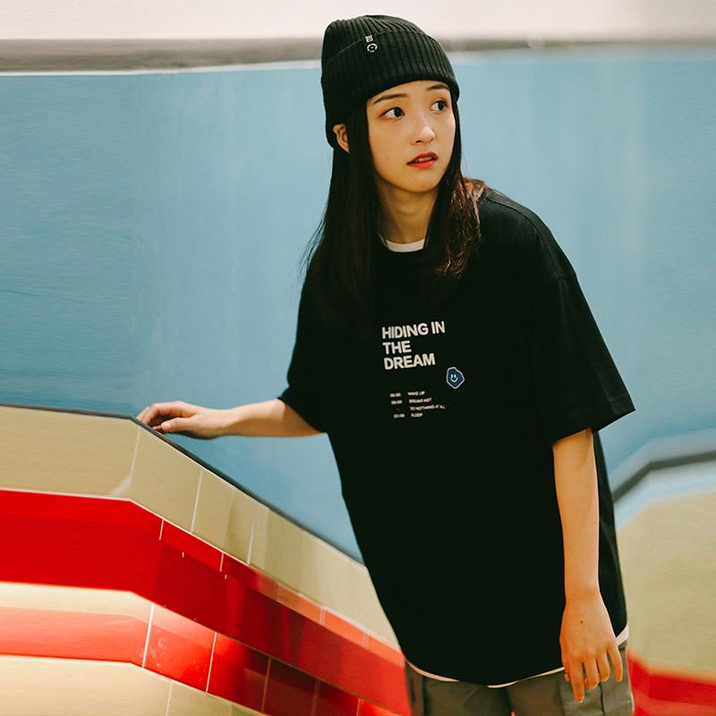 丝叔潮社 PSO Brand 主题趣味标题多色纯棉短袖港风男女圆领T恤