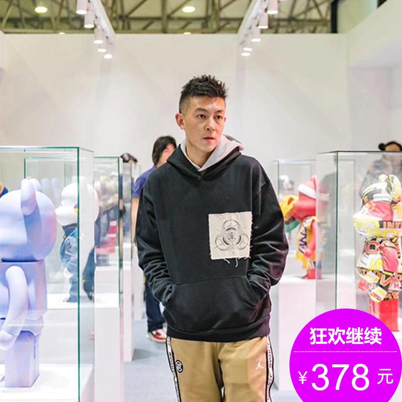 丝叔潮社 Clot x fragment x innersect三方联名男女潮牌卫衣帽衫