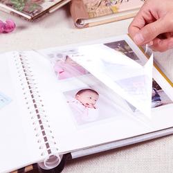 diy相册本纪念册自粘贴式覆膜拍立得3寸相册创意礼物320张大容量