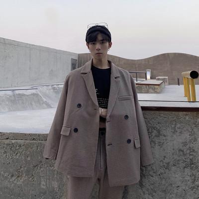 2019/秋 格子西装套装 D212 TZ03 上衣P90 裤子P55 可单独销售