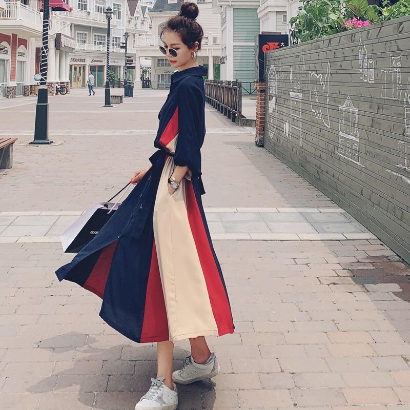 女人味法式长袖连衣裙女2020秋季新款名媛气质显瘦赫本风长裙图片