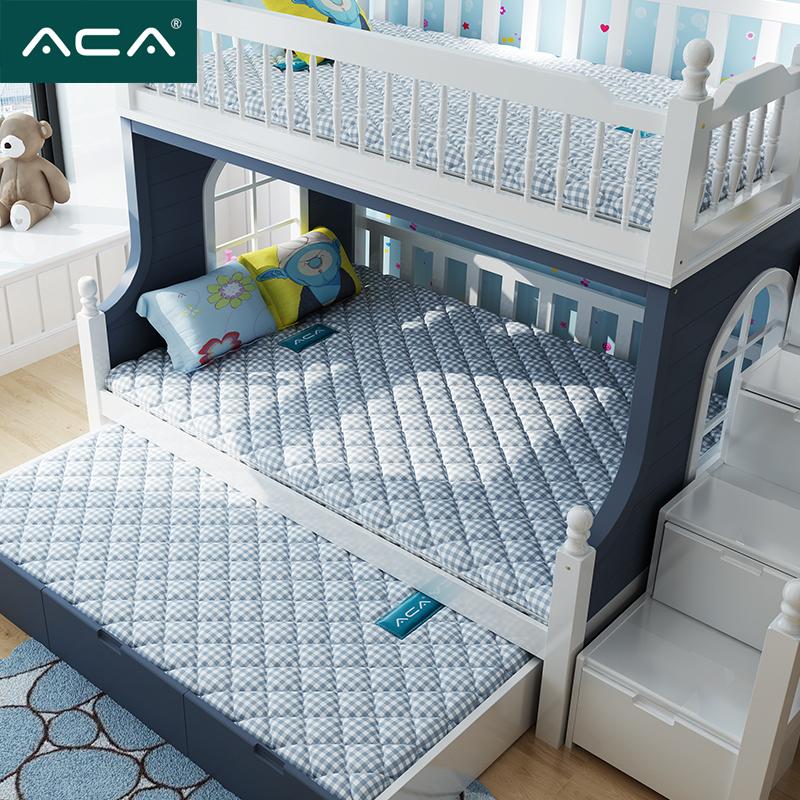 �和�床�|���型定做1.5席�羲�1.2米1.8m偏硬天然椰棕乳�z棕�白�|
