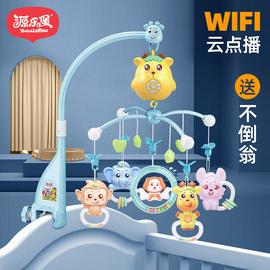 源乐堡新生婴儿床铃0-1岁3-6个月12男女宝宝玩具音乐旋转益智摇铃图片