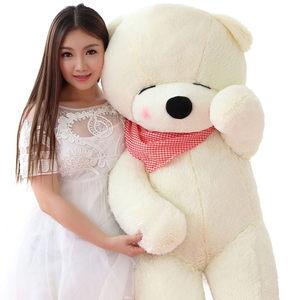 超大熊泰迪熊猫公仔毛绒玩具1-2米3.4.5.6M1.2米一M8生日礼物女