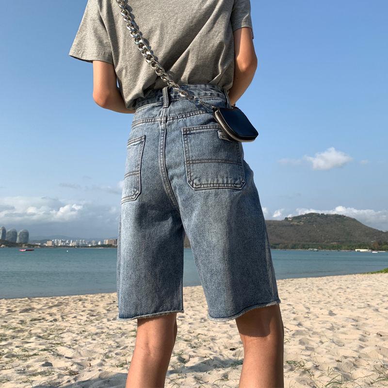 Женские джинсы / Джинсовые шорты Артикул 615872521967