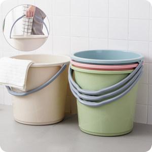 空调出水接水桶吃水桶装户外保洁小桶加厚方桶夏天打扫家居塑胶桶