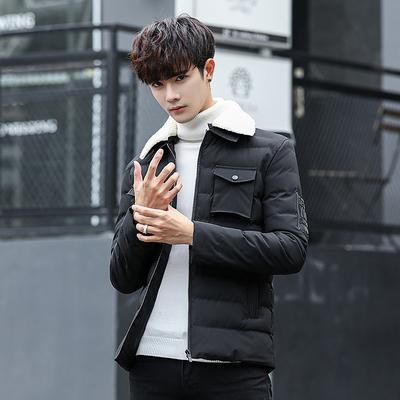 【哥曼雷】韩版潮流时尚加厚棉衣