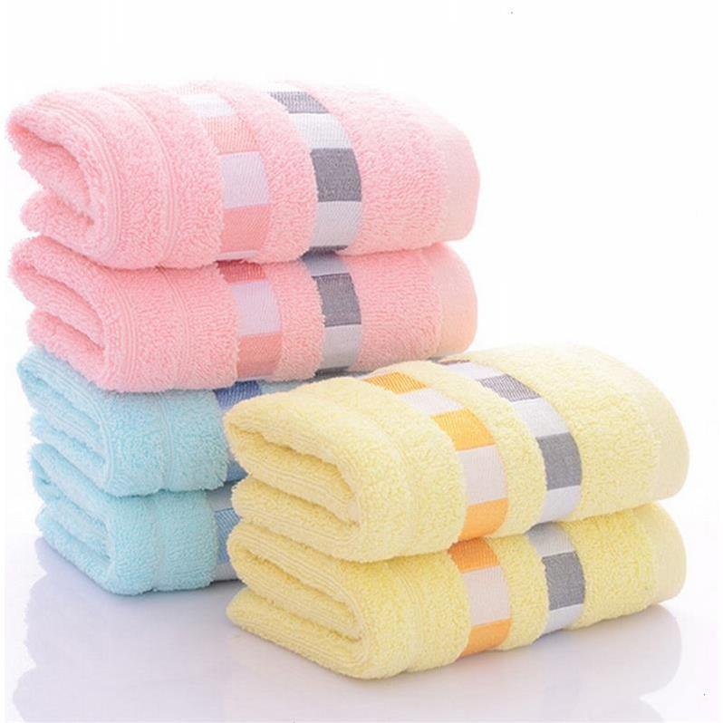 纯棉毛巾十条装 全棉加提缎款 柔软吸水 洗脸家用面巾