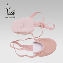 Ting Chen Ting half-legged rhythmic gymnastics shoes dance shoes belly dance shoe leather body shoe gymnastics shoe Woman