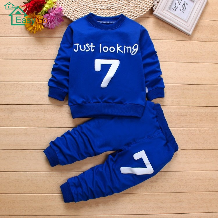 Boy's clothing set 2018 spring dress new baby clothes baby g