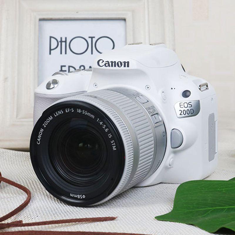 EOS 200D 18-55 SLR camera entry level digital HD Camera Canon 200D