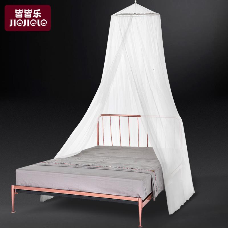 兒童蚊帳1.21.5米床公主風吊掛圓頂蚊帳寶寶嬰兒床加密通用蚊帳罩
