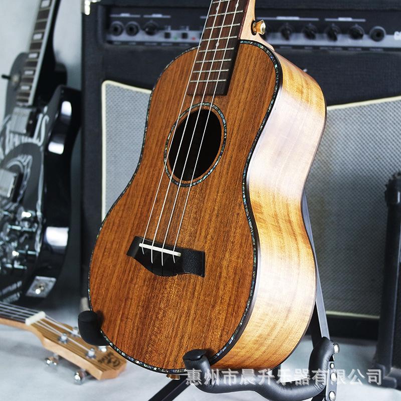 26寸尤克里里 ukulele乌克丽丽小吉他 相思木单板高端全单定制版券后1050.00元