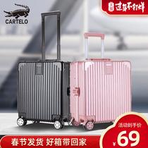 寸登机箱迷你18复古小型行李箱男女拉杆箱韩版旅行箱万向轮密码箱