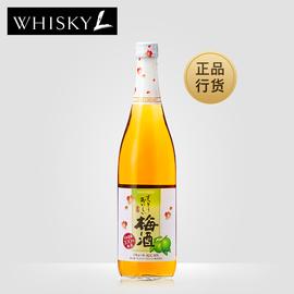 suntory宾三得利梅酒梅子酒日本进口洋酒微醺青梅果酒低度酒720ml