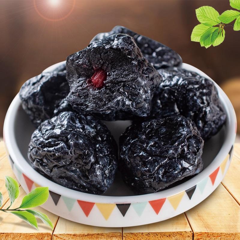 峡果乌梅干果脯500g零食干果蜜饯话梅情人半梅干散装称重1斤特产