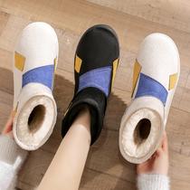 聚V8F1DDD0冬新商场同款休闲复古瘦瘦短靴2020百丽平底短靴女