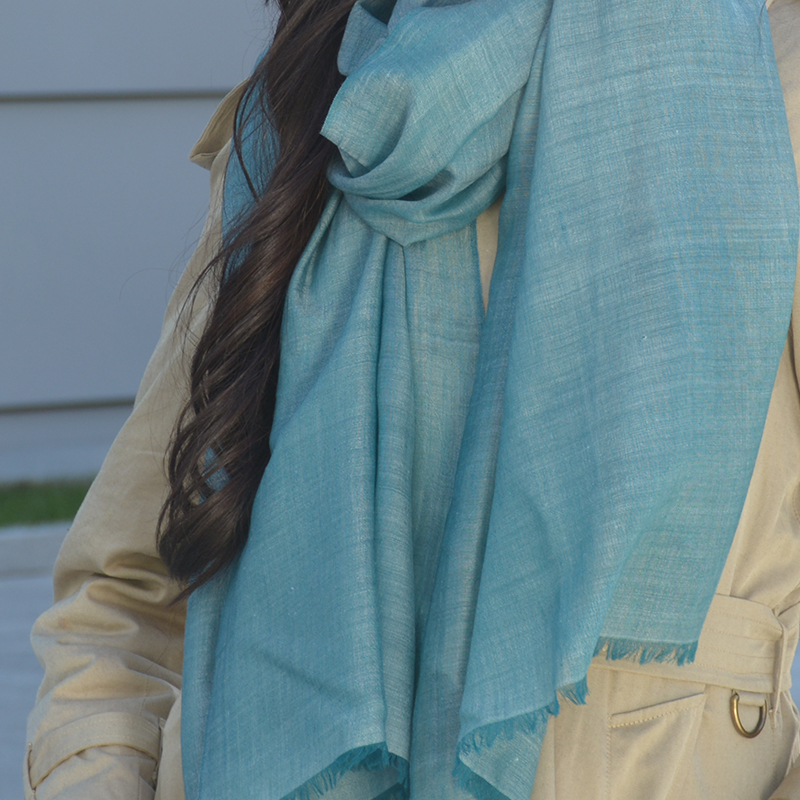 Cashmere scarves and silk scarves are versatile for women, spring and autumn thin mulberry silk long shawl with summer foreign fashion