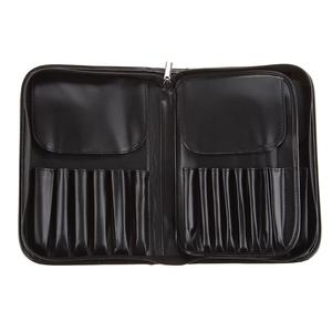 11支29支装皮质化妆刷包 化妆师用收纳包全套美妆工具大容量空包