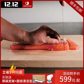 日本蔻吉特原装进口桧木加厚切菜板